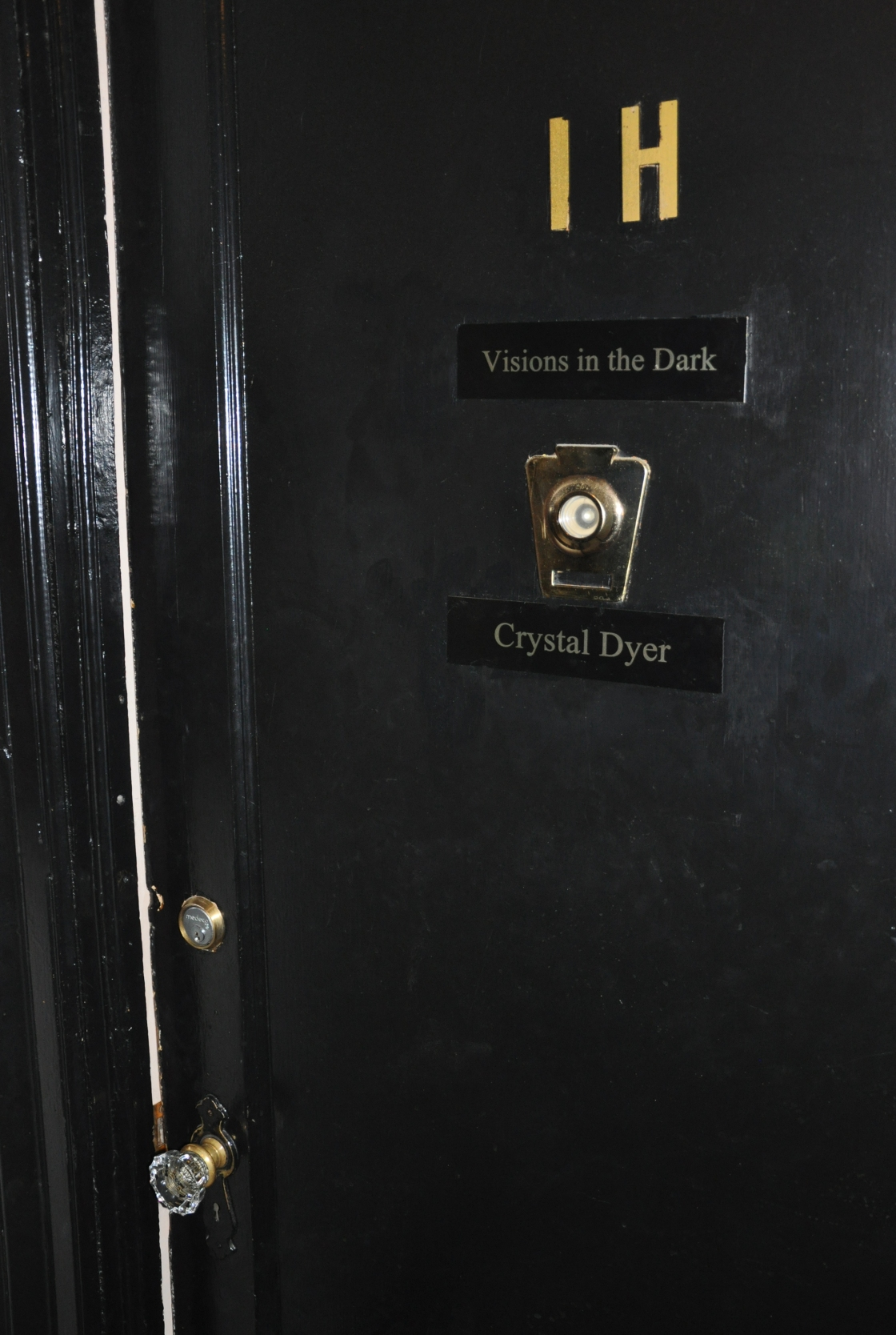 Crystal Dyer Visions in the Dark Door IH New York NYC